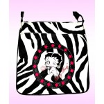 Betty Boop Pocketbook / Purse #109 Messenger Bag Zebra Design