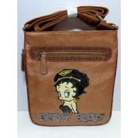 RETIRED ITEM Betty Boop TOTE BAG BIKER DESIGN SMALL