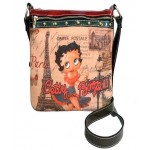 Betty Boop Pocketbook / Purse #110 Messenger Bag Betty In Paris Design