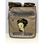 Betty Boop Pocketbook / Purse #80 Messenger Bag Biker Design Pewter
