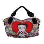 Betty Boop Pocketbook / Purse #105 Large Hand Bag Multi Poses Design
