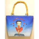 Betty Boop Pocketbook / Purse #107 Sequin & Beaded Cool Breeze Design