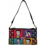 Betty Boop Wristlet /shoulder Bag #112 Four (4) Poses Design