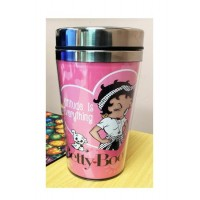 Betty Boop Tumbler Double Insulated Attitude Is Everything Design