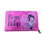 Betty Boop Zip Around Wallet #073 Attitude Is Everything Design