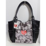 I Love Lucy Large Tote Bag Collage Design