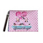 I Love Lucy Makeup Bag Chocolate Factory Speed It Up Design
