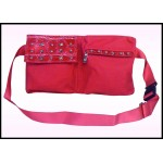 Fanny Pack #03 Pink With Studs Design