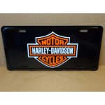 Harley-davidson License Plate