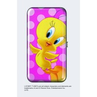 Tweety Bird Clutch Purse Flat Clasp Wallet