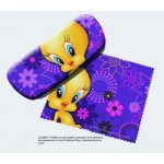 Tweety Bird Eyeglass Case - Face Design
