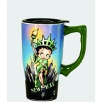 Betty Boop Travel Mug Statue Of Liberty Design (ceramic)