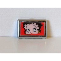 Betty Boop Business Or Credit Card Holder Face Design